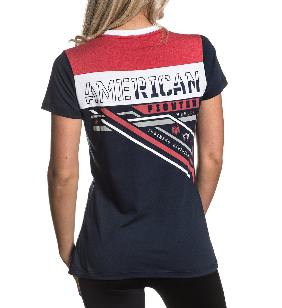 Colburn - Womens Short Sleeve Tees - American Fighter