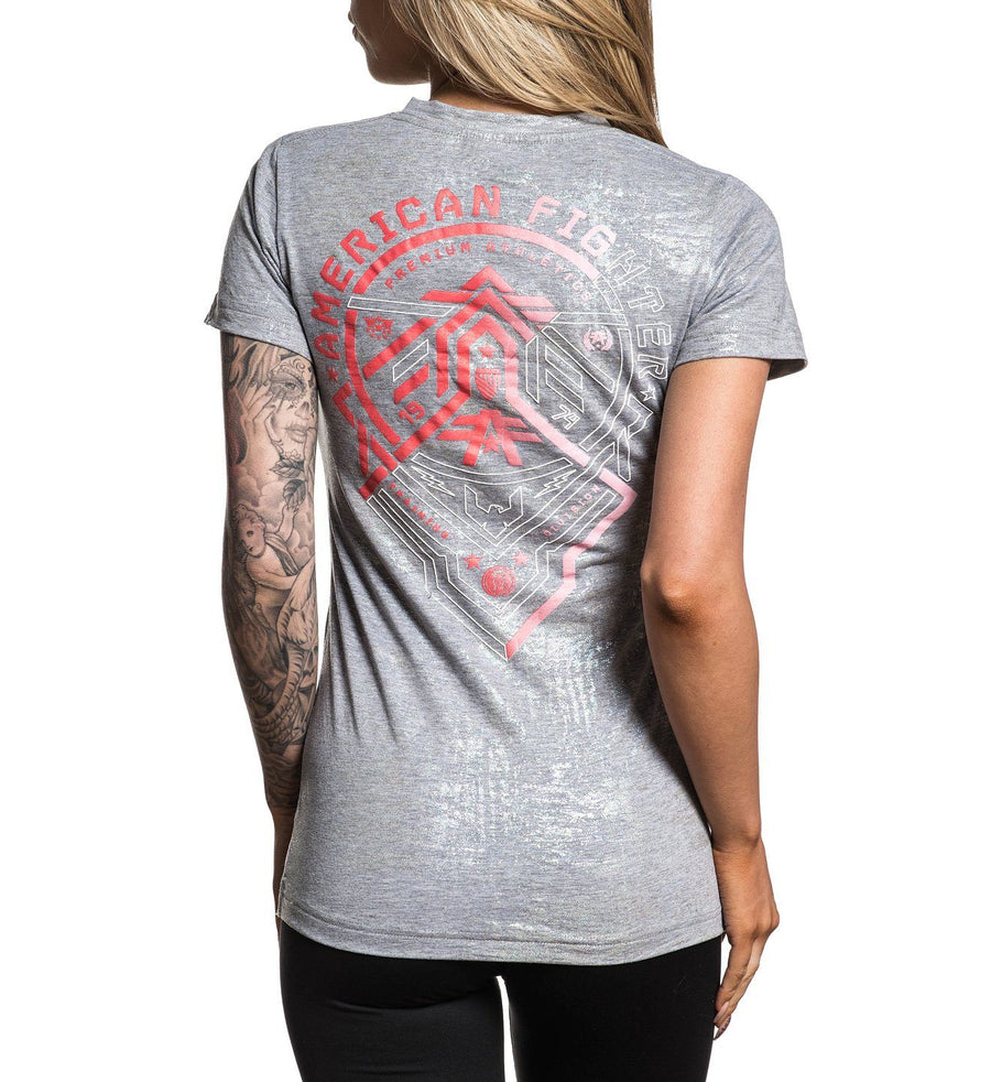 Eldon - Womens Short Sleeve Tees - American Fighter