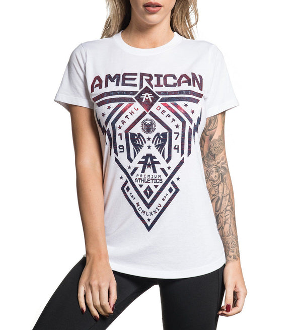 Womens Short Sleeve Tees - Fairbanks Artisan