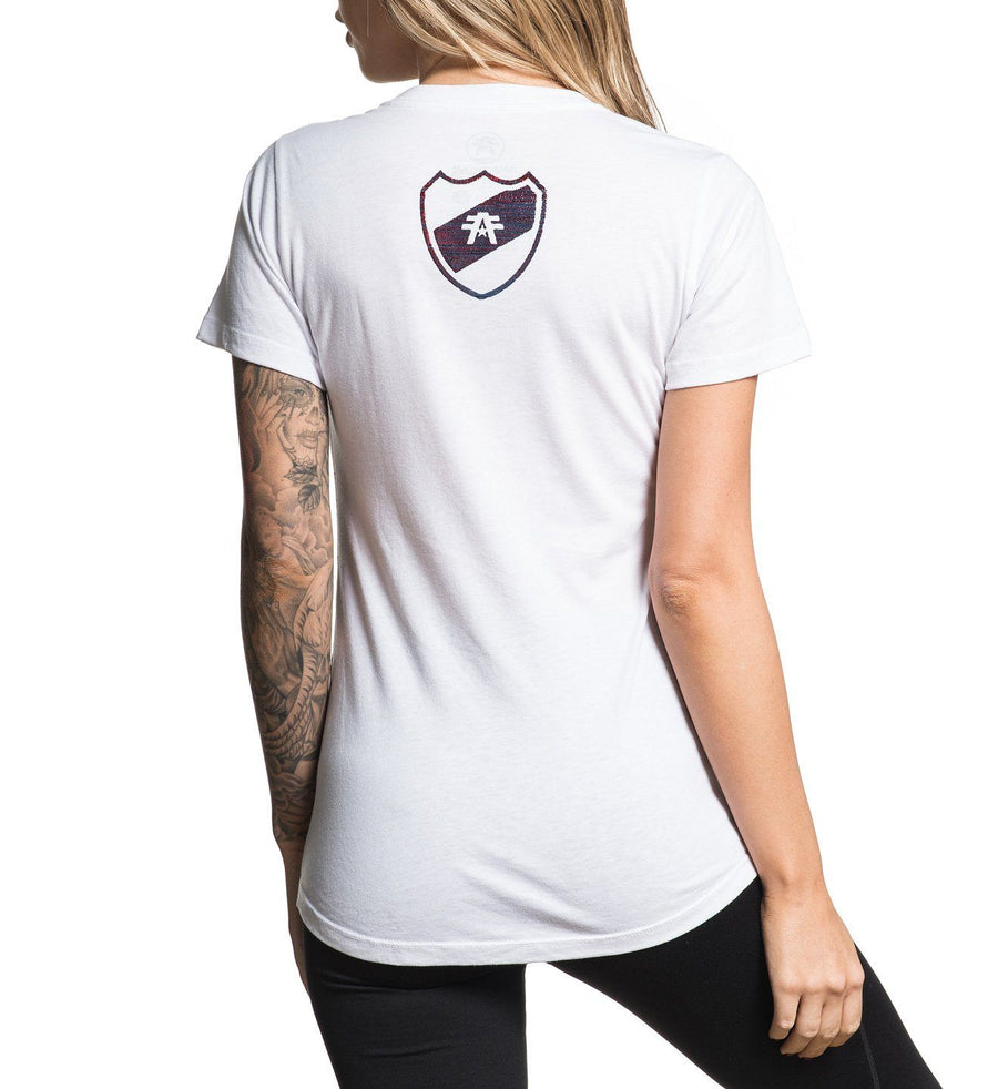Fairbanks Artisan - Womens Short Sleeve Tees - American Fighter