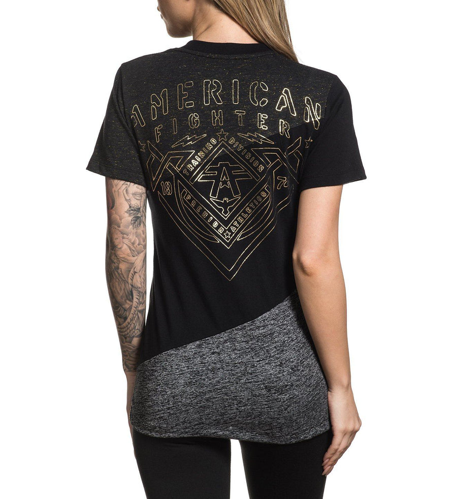 Faulkner - Womens Short Sleeve Tees - American Fighter