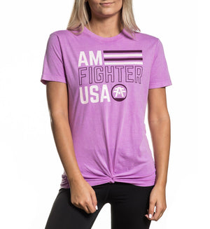 Flagler - Womens Short Sleeve Tees - American Fighter