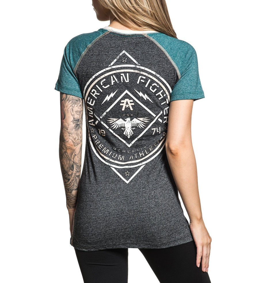 Galveston - Womens Short Sleeve Tees - American Fighter