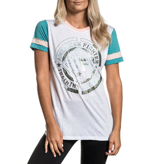 Howard Studio - Womens Short Sleeve Tees - American Fighter