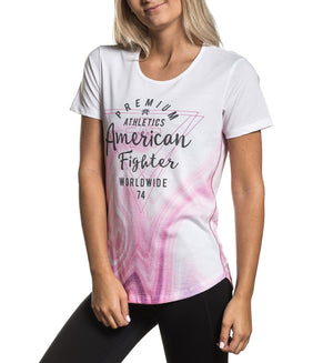 La Sierra - Womens Short Sleeve Tees - American Fighter