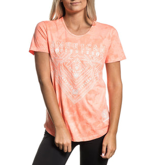 Parkside - Womens Short Sleeve Tees - American Fighter