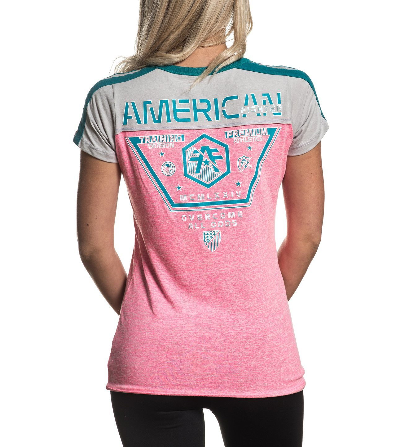 Ryder - Womens Short Sleeve Tees - American Fighter