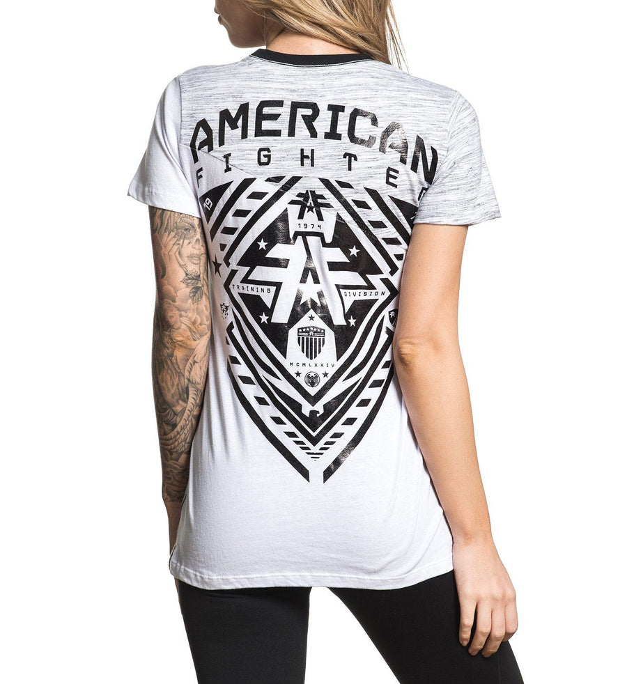 Tillman - Womens Short Sleeve Tees - American Fighter