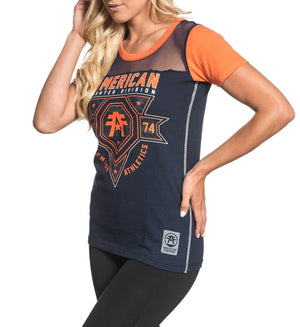 Wingate Camo - Womens Short Sleeve Tees - American Fighter