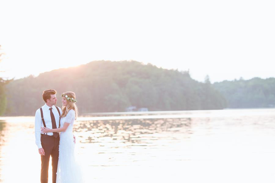 A Waterfront Wedding in Muskoka