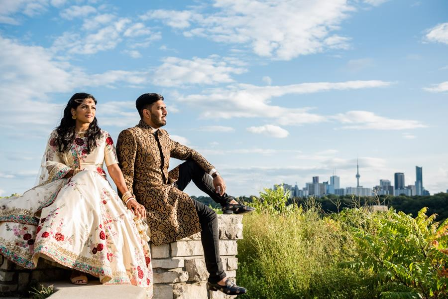 A Stylish Indian Wedding in Toronto
