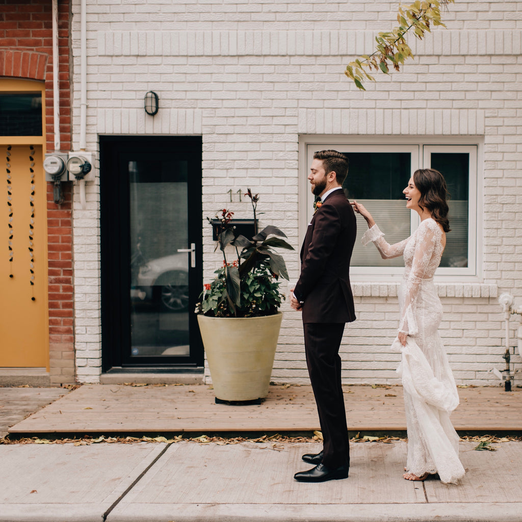 A Fall Wedding in the City