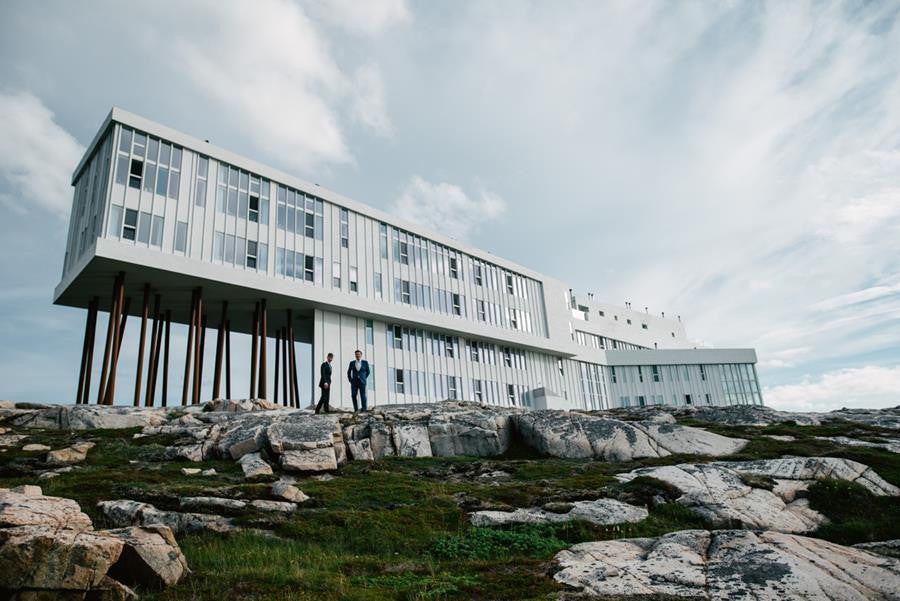 An Intimate Wedding on Fogo Island