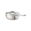 Copper Core Saucier Pan w/ Lid, 2QT