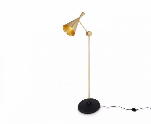 Beat Floor Lamp, Brass