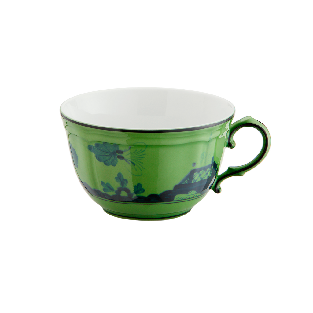 Oriente Italiano Tea Cup, Malachite