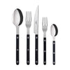 Bistrot Black 5-Piece Place Setting