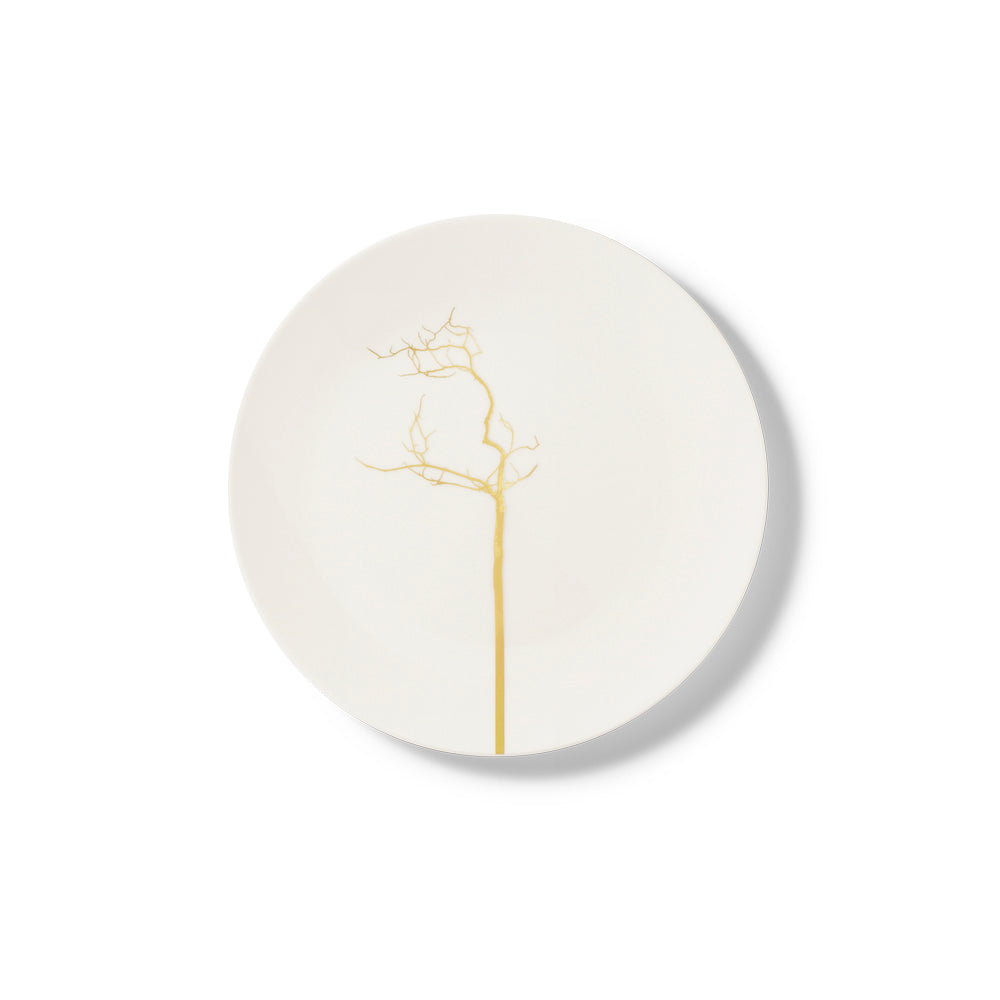 Golden Forest Dessert Plate 21cm