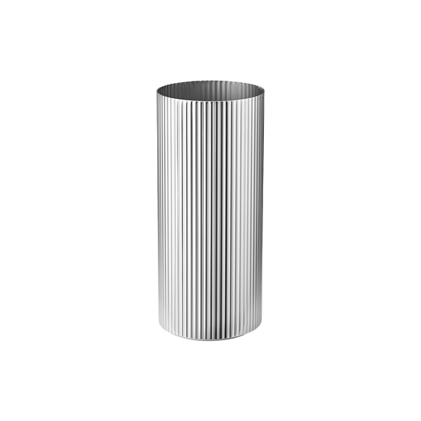 Bernadotte Vase Medium, Stainless Steel 7.5