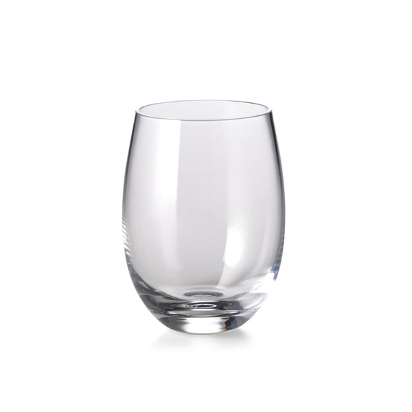 Curved Tumbler, Small Clear