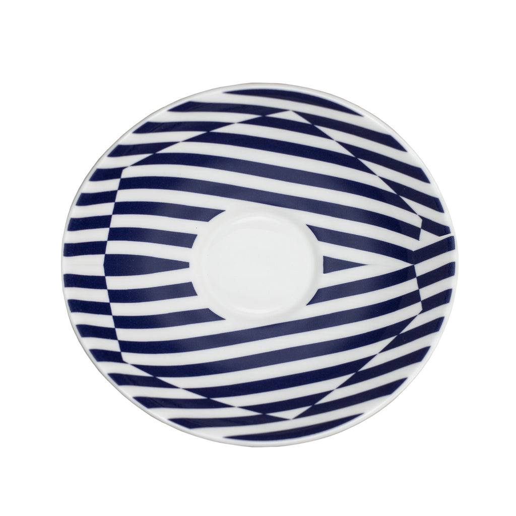 Superstripe Warp Tea Saucer, 14.5cm