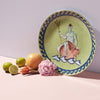 Luke Edward Hall Il Viaggio Di Nettuno Centerpiece and Charger Plate, Moss Green