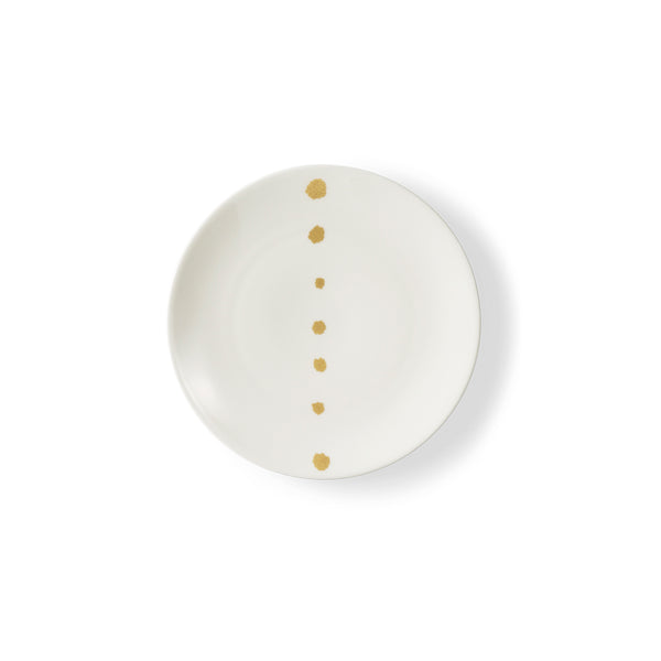 Golden Pearls Side Plate, 16cm