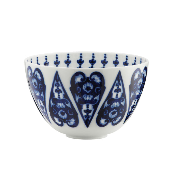 Babele High Bowl, Blue
