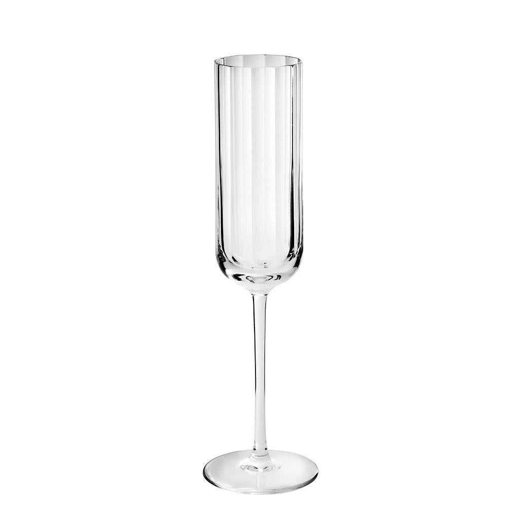 Fluted Champagne Flute