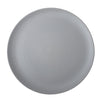 Scorze Tonde  Light Grey Dinner Plate