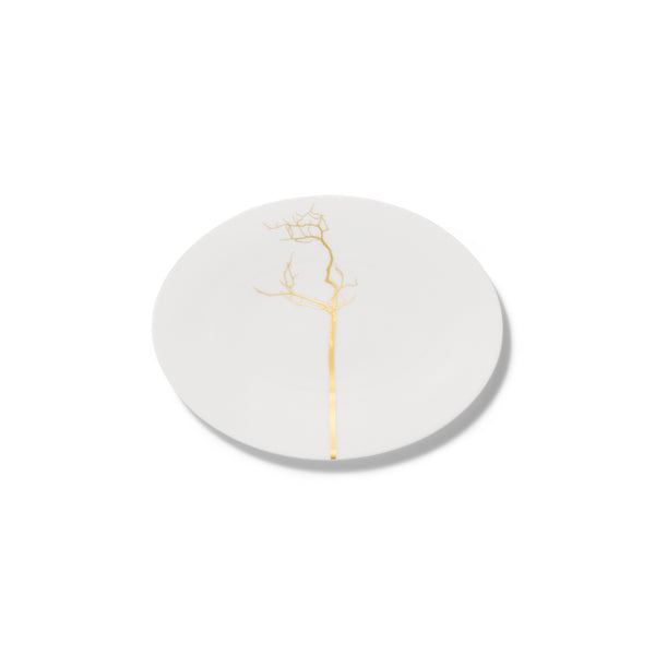 Golden Forest Oval Dish, 24cm