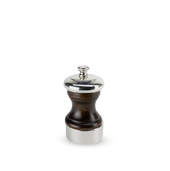 Palace Silver Plate & Wood Pepper Mill, 10cm