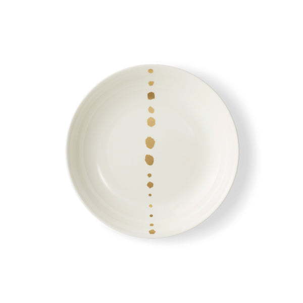 Golden Pearls Soup Plate