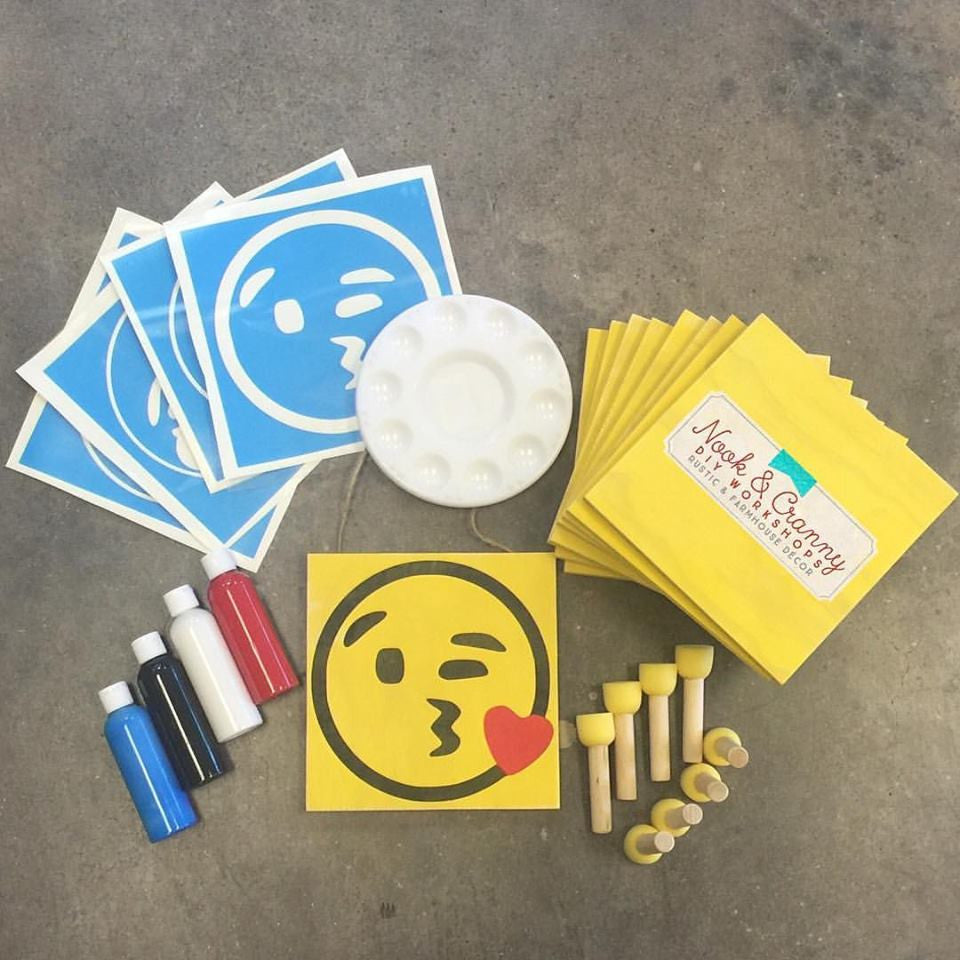 MINI Maker TAKE & MAKE Party Kit ~ Emoji