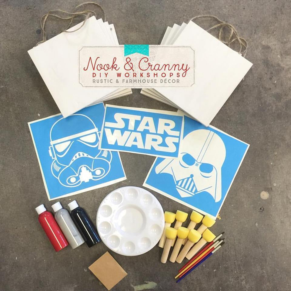 MINI Maker TAKE & MAKE Party Kit ~ Star Wars