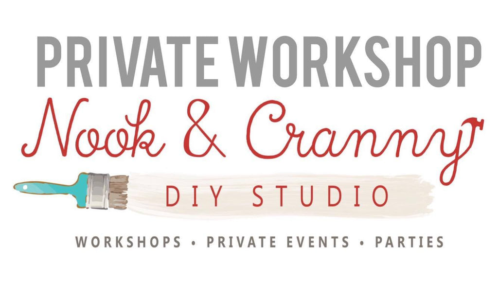 December 12th 6:30pm Private Workshop DEPOSIT