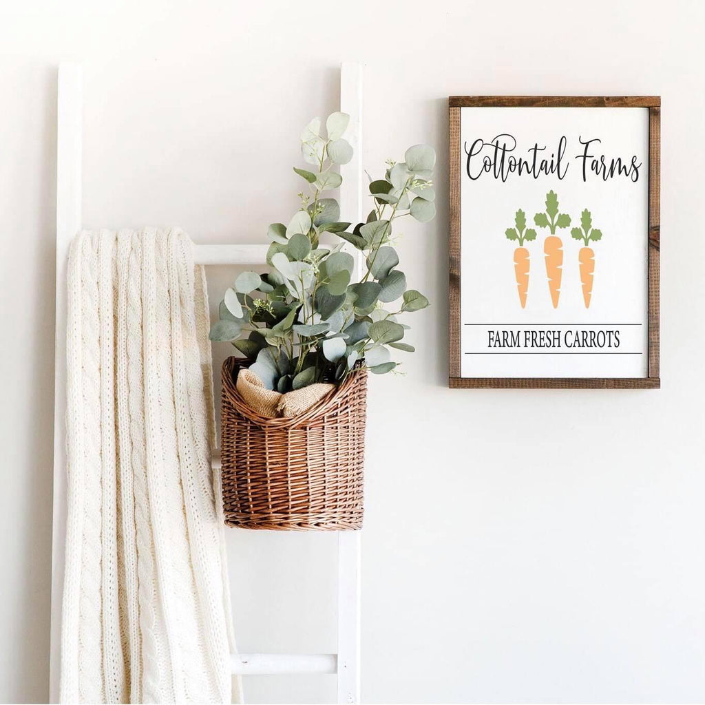 Cottontail Farms Framed Sign Kit {unfinished}