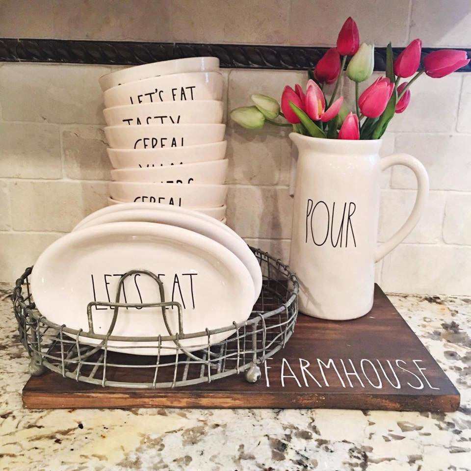 OCTOBER DECOR VINTAGE DISH RACK