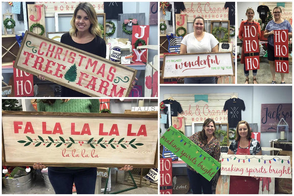 October 25th 6:30pm Holiday {and every day!} Plank Signs