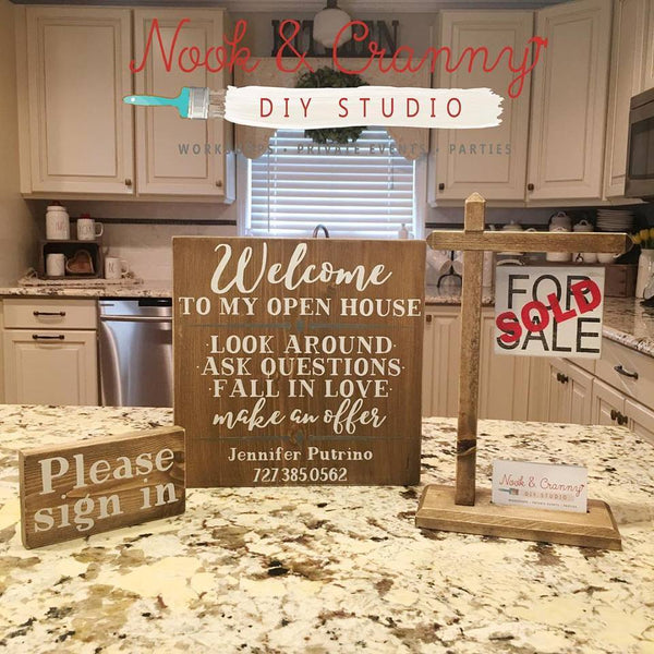 March 1st 6:30pm NEW Realtor Sign Set Workshop