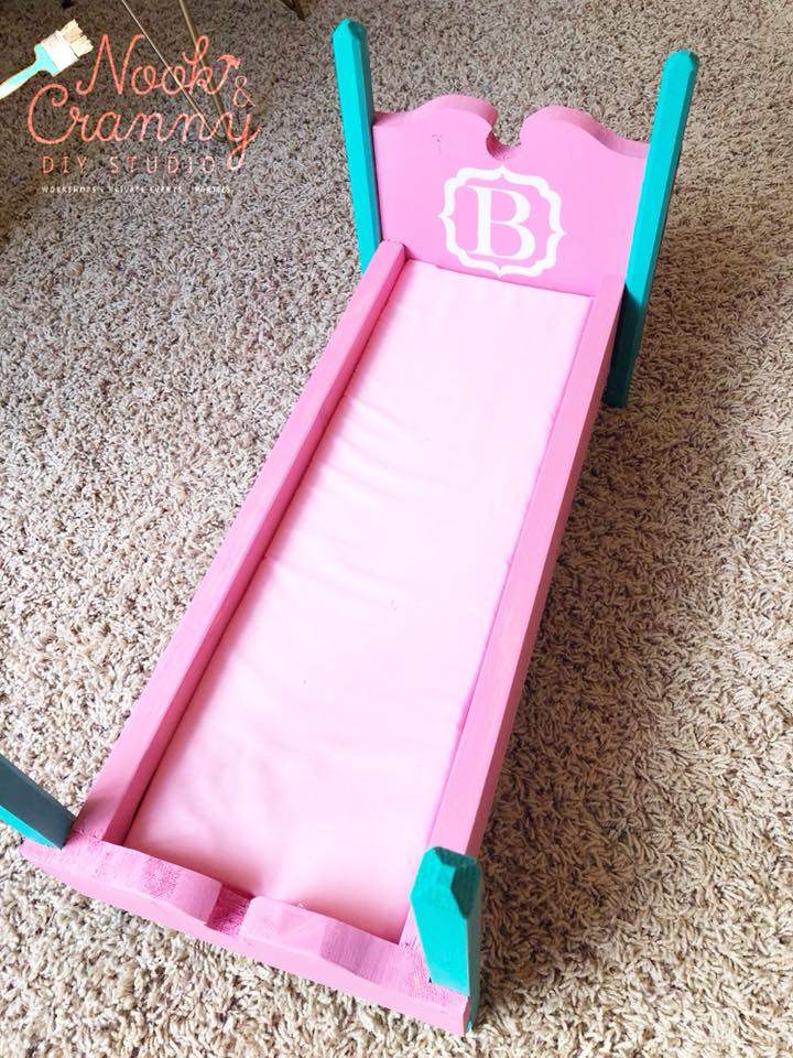 August 18th 2pm **NEW** MINI Maker Personalized Doll Beds