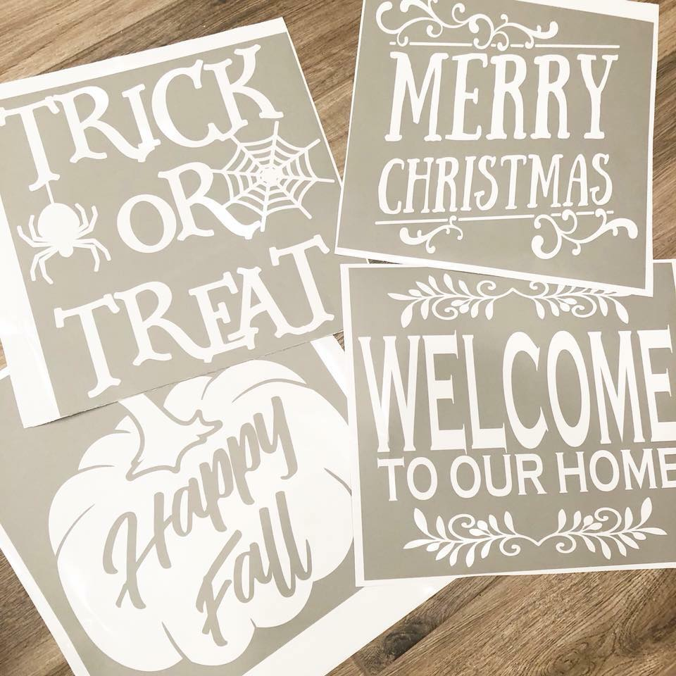 August homeMAKER DIY Sign Kit {pre-order PICK UP ONLY}