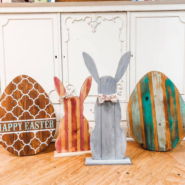 February 22nd 6:30pm Free-Standing Porch Easter Egg or Bunny Workshop