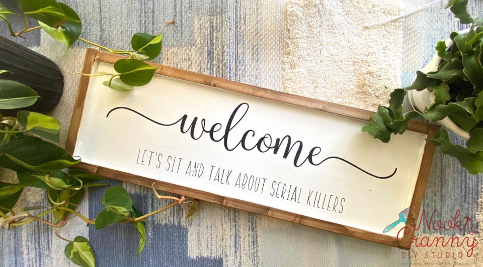 Welcome {Let's sit and talk about....} homeMAKER Sign Kit