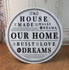 February 21st 6:30pm NEW Round Signs ~ TWO sizes to pick from