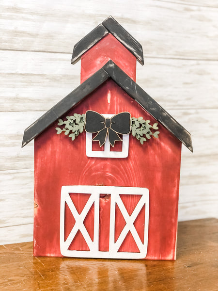 REVERSIBLE Church/Barn Kit {unfinished}