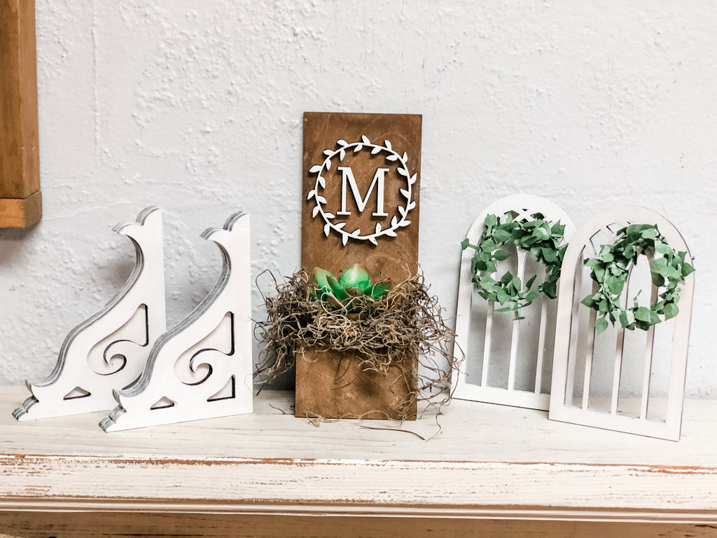 Tiered Tray Farmhouse Accessory Bundle