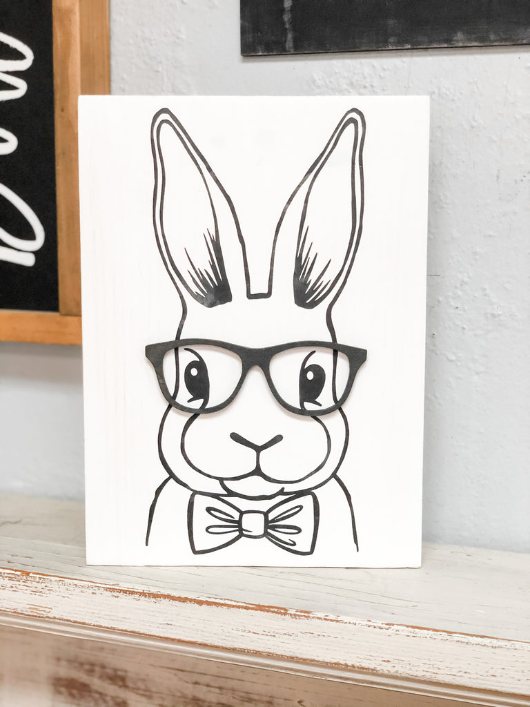 Animals {with glasses} Sign Kit {unfinished}