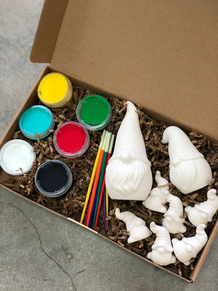 Ceramic Gnome Family homeMAKER Kit