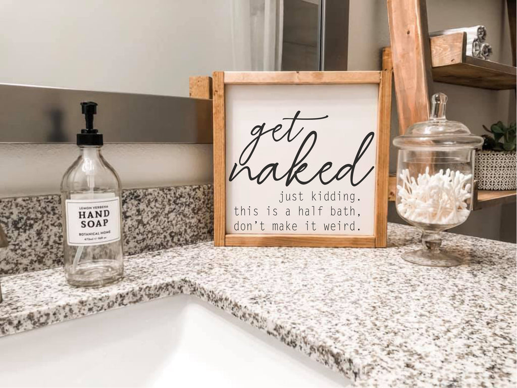 Framed Mini Signs homeMAKER Kit {over 150 designs to pick from!}